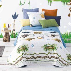 Bouti SPOT JUNIOR 596 de microfibra Para cama de 90 cm de anchura Medida del producto 180cmx 260 cm Mejor calidad a bajo precio