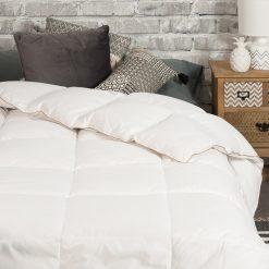 Relleno nórdico modelo GOLD natural para cama de 150/160 cm Relleno 98% Plumón y 2% Pluma Gramaje de 250 Gr Mejor calidad a bajo precio