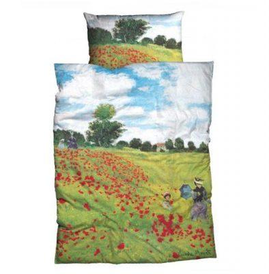 Juego de sábanas CLAUDE MONET: Encimera y funda de almohada algodón Para cama de 90 cm Mejor calidad a bajo precio