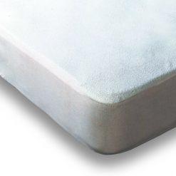 Protector Colchón FRESH Transpirable e impermeable Anti ácaros Medida 80/90/105/120/135/150 cm 100% Algodón Mejor calidad a bajo precio