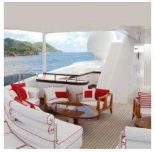 Colecciones para exterior, tejidos para barco