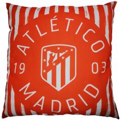Cojín Atlético de Madrid 1903Producto con licencia oficial del Atlético de Madrid Reversible Medida 50 x 50 cm Mejor calidad a bajo precio