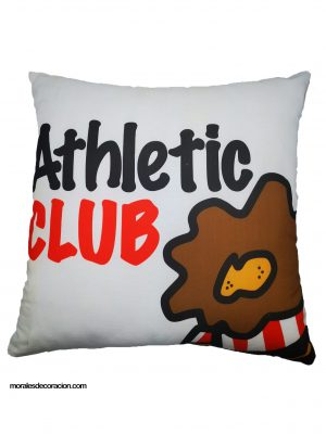 Cojín Athletic club Producto con licencia oficial del Athletic Club Medida 50 x 50 cm Mejor calidad a bajo precio