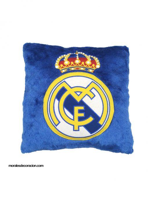 Cojín 3D Real Madrid Producto con licencia oficial del Real Madrid Medida 35 x 35 cm Mejor calidad a bajo precio