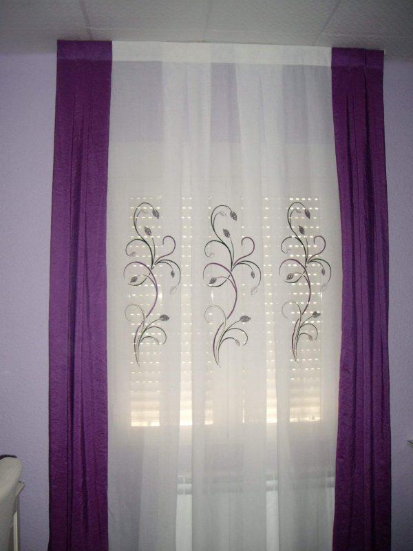cortina a fuelles según dibujos