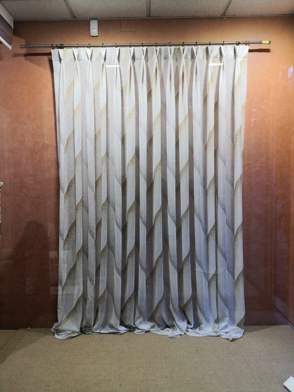 cortina en jacquard
