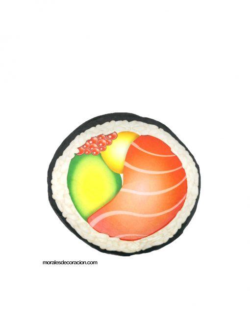 Cojín pieza de sushi Medida 33 x 33 x 17 cm Mejor calidad a bajo precio Tiene forma de comida, muy gracioso para regalar