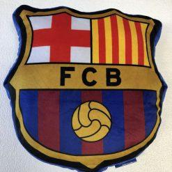 Cojín fútbol FC Barcelona Producto con licencia oficial del FC Barcelona Medida 25 x 35 cm Mejor calidad a bajo precio