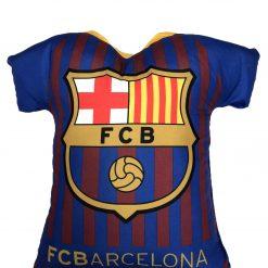 Cojín Camiseta FC Barcelona Producto con licencia oficial del FC Barcelona Medida 42 x 45 x 10 cm Mejor calidad a bajo precio