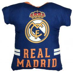 Cojín Camiseta REAL MADRID Producto con licencia oficial del REAL MADRID Medida 42 x 45 x 10 cm Mejor calidad a bajo precio