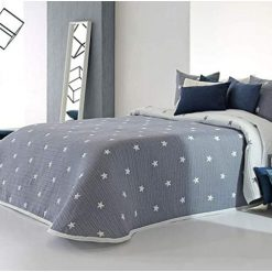 COLCHA modelo KIRBY de gama alta Para cama de 150 cm de anchura Medida del producto 250 x 270 cm Mejor calidad a precio bajo