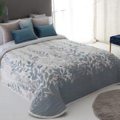 COLCHA modelo LISBOA de gama alta Para cama de 150 cm de anchuraMedida del producto 250 x 270 cm En 3 tonalidades Mejor calidad a precio bajo