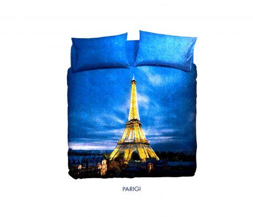 Funda nórdica París de bassetti para cama de 90 cm de 3 piezas 100% algodón Alta calidad a bajo precio juvenil