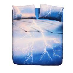 Juego de Sábanas Natura modelo FULMINE 2 piezas Encimera y funda de almohada 100% algodón Para cama de 90 cm Bajo precio y alta calidad