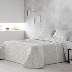Bouti KASE en jacquard Para cama de 135 y 150 cm de anchura Medida del producto 235/250cmx 270 cm Incluye 2 fundas de cojín regalo Mejor calidad a bajo precio
